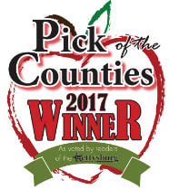 2017 Gettysburg Times Pick of the Counties 1st Place Winner for Best Massage Therapist