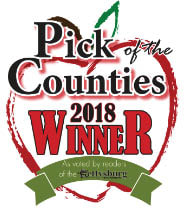 2018 Gettysburg Times Pick of the Counties 1st Place Winner for Best Massage Therapist