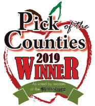 2019 Gettysburg Times Pick of the Counties 1st Place Winner for Best Massage Therapist